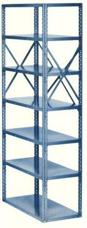 10 Shelf Open Industrial Steel Shelving Units 18 Gauge