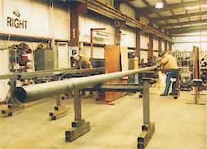 Easy Rack inventories an extensive selection of industrial light poles and lighting pole tenons and adaptors.
