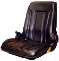 Fork Truck Seat with Seat Belt