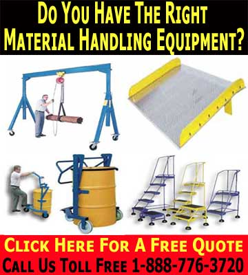 The Right Material Handling Equipment Will Save You Time And Money