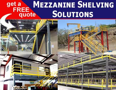Mezzanine Platform Shelving Increases Your Warehouse Vertical Space By 33%