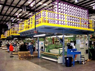 Steel Storage Mezzanine Installation & Sales Nationwide