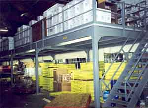 The biggest advantages offered by a steel mezzanine storage platforms over any of the alternatives available are that the actual cost of installation are relatively low
