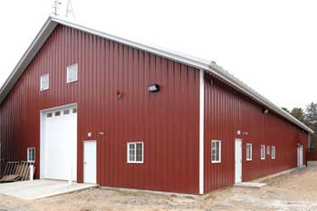 Prefabricated Modular Barns