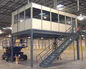 Affordable Prebuilt Modular Prefabricated Inplant Offices Are An Easy Solution To More Vertical Space
