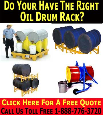 Quality & Affordable 55 Gallon Oil Drum Racks Sales & Accessories