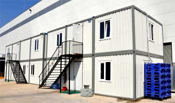 Outdoor Prefabricated Office Buildings