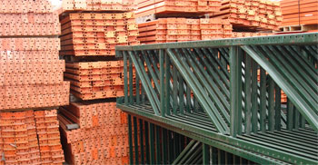 "Pallet rack beams are adjustable on 2"" centers and come in three different options.  They can be one piece units, called step beams.  They can be JN beams, or they can be Z beams, commonly used for building picking levels."