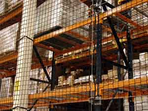 Warehouse Pallet Rack Netting