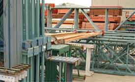 The main things to consider when you are first planning the layout and system of pallet racks that you are planning to use are what the available space is, and how best to utilize it.