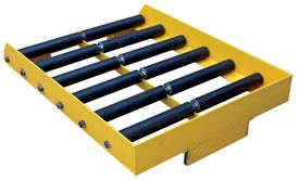 Fork Lift or pallet truck adaptor for safely handling fork lift batteries