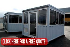 Prefab Guard Shacks Installed, Designed & Manufactured 100% In The USA
