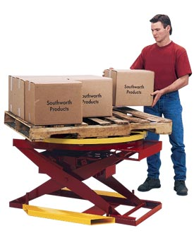 Pallet Pal Lift Table Pneumatic (Airbag)