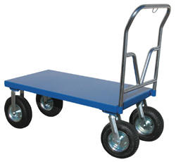 Pneumatic Tire Steel Platform Truck