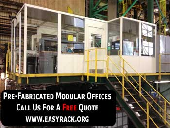 Pre-engineered Modular Prefabricated In Plant Offices
