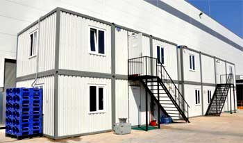 Prefabricated Modular Offices Building Custom Built To Your Needs