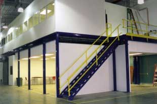 Prefabricated Indoor Modular Inplant Office Sales & Accessories Installed