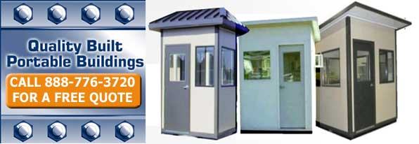 Portable Prefabricated Thicket Booths, Sheds & Shelters
