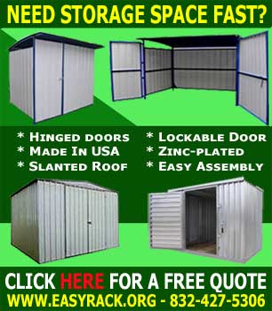 Prefab Storage Sheds Made 100% In the USA