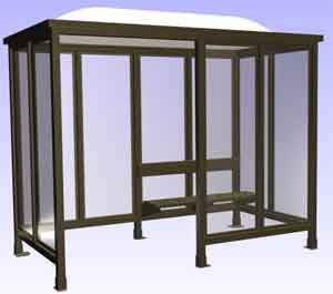 One of the most popular methods of prefabricated building shelters is to use prefabricated sections that are prepared and finished off site before being assembled into the final structure in its ultimate location.