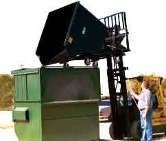 Easy Rack self-dumping hoppers are manufactured with several standard features that make them highly versatile and durable.