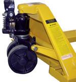 sidewinder pallet truck hydraulic pump closeup