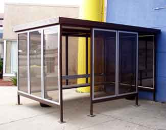 One of the most important aspects of planning a smoking shelter for staff is that it is located away from areas where other staff are likely to be, and also should be within easy reach of the building.