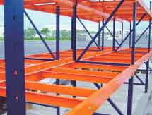 A structural pallet rack is constructed out of structural steel and offers significant advantages over other forms of rack.