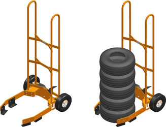 tire dollies carts u0026 tire dolly click to enlarge