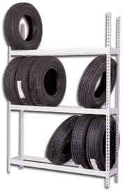 Tire Storage Racks Made In The USA - Custom Built