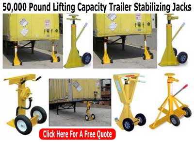 Trailer Stabilizing Jacks Can Save You Time & Money