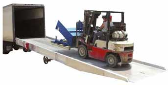 Commercial Grade Portable Truck Loading Ramps