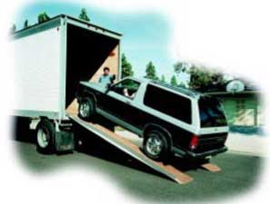 Commercial Truck, Car, Suv Loading Ramp