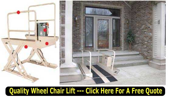 Quality Heavy Duty Wheel Shair Lifts