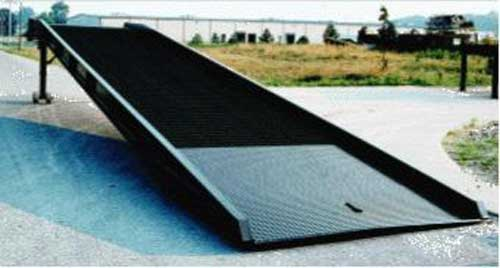 Steel Truck & Trailer Yard Loading Ramps (30,000 Lbs. Capacity)