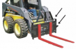Heavy Duty Forkframe for Skid-Steer with Pallet Forks